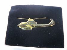 Vintage Lapel Hat Pin: COBRA Military Helicopter