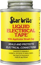STAR BRITE LIQUID ELECTRICAL TAPE BLACK 4 OZ 084104B