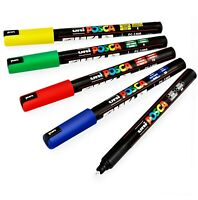 Uni-Ball Posca PC-1MR Marcatore a Vernice Arte Penne - 0.7mm Nib - Basic Set Di