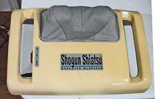 HoMedics Shogun Shiatsu neck massage machine