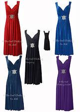 Knee Length V Neck Party Patternless Dresses for Women