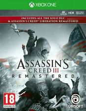 Assassin's Creed III Remastered Xbox One Game