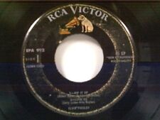 ELVIS PRESLEY EPA-992 TITLES IN DESCRIPTION