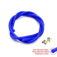 ID:5mm OD:10mm Silicone Vacuum Hose Line 3M/10ft Blue Intercooler Coupler Pipe