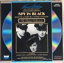 Spy In Black LASERDISC