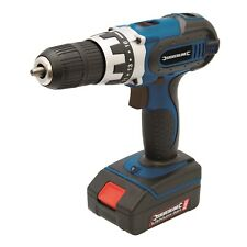 NEW CORDLESS 18V DRILL DRIVER LI-ION BATTERY LED 1HR CHARGER SILVERLINE 241469