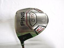 Used LH PING G15 9* Driver TFC-149 Stiff (S) flex G-15