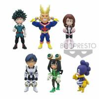 Banpresto My Hero Academia World Collectable Figure WCF vol.1 Set of 6 type