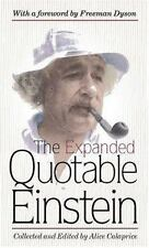 The Expanded Quotable Einstein Einstein, Albert Hardcover Used - Very Good