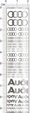 chrome(metal) decals sihuan for different scales model kits (Silver) 3975