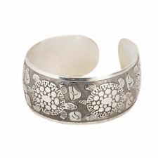 Longevity Turtle Tibetan Tibet Silver Totem Bangle Cuff Bracelet Gift Jewelr Bp1