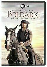 Masterpiece Poldark Season 5 (DVD, 2019, 3 Discs) NEW & SEALED FREE SHIPPING