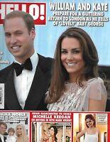 Hello Magazine Kate Middleton Prince William Emma Noble Wedding Michelle Keegan