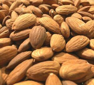 Raw Almonds Unpasteurized Premium Quality Large Almonds 500g, 1kg, 5kg