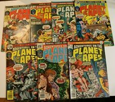 Lot of 7 MARVEL COMICS - Adventures on the Planet of the Apes - #2,3,4-7,9 FINE