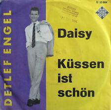 """7"""" 1964 RARE! DETLEF ENGEL Daisy + Küssen ist schön M-?"""