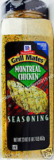 McCormick Grill Mates Montreal Chicken Pork Seafood Seasoning, 23 Ounces