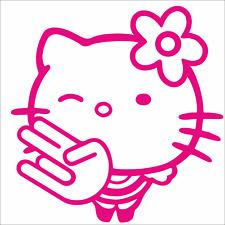1 Hello Kitty Schocker Bomb 11cm Aufkleber Autoaufkleber Motorrad Sticker neu F