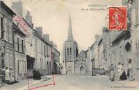 CHEROY - rue de l'hôtel de ville  (Yonne)