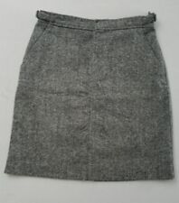 J Crew Pencil Skirt Size 6 Knee Length Gray Wool Blend Lined Career YP