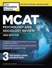Graduate School Test Preparation: MCAT Psychology and Sociology Review, 2nd...