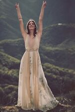 Free People Queen Of The Sun Maxi Dress Rare For Stunning 2 Love And Lemons