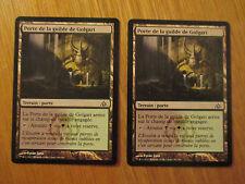 x2 Cartes Magic MTG Porte de la guilde de Golgari VF (Le Labyrinthe du dragon)