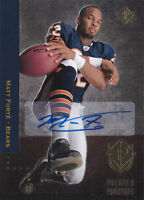 2008 SP Rookie Edition Autographs #221 Matt Forte RC 94 Auto