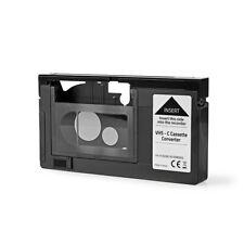 CASSETTA ADATTATORE PER VISIONE NASTRI VHS-C IN VCR VHS SENZA COMPLICAZIONI !
