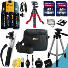 Canon Powershot A710 PRO 19 Piece Accessory Kit w/ 32GB Memory +AA BTS +MORE!