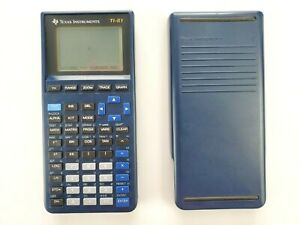 Texas Instruments TI-81 Graphing Calculator Tested