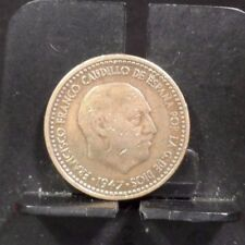 CIRCULATED 1947(61?)  SPANISH COIN (112917)1.....FREE SHIPPING!!!!!