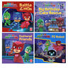 PJ Masks & Pat-a-Cake  4 Books Collection Set,Battle of the HQs,PJ Robot,NEW