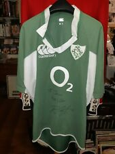 Ireland rugby shirt Rory Best signed (not match worn )