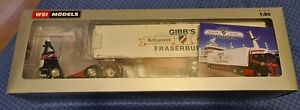 WSI Models/ Search Impex Gibbs Of Fraserburgh Scania S Highline + Fridge Trailer