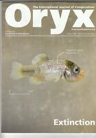 ORYX Conservation Magazine March 2020 - Extinction