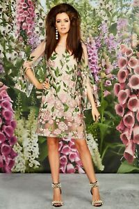 TRELISE COOPER DREAMING OF YOU DRESS $799.00 (8) NWOT STUNNING
