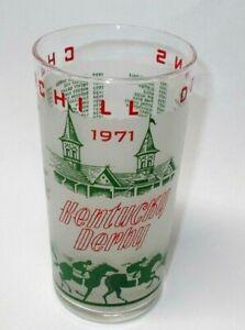 VINTAGE 1971 Churchill Downs KENTUCKY DERBY MINT JULEP GLASS