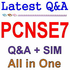 Palo Alto Networks Certified Network Security Engineer PCNSE7 Exam Q&A PDF+SIM