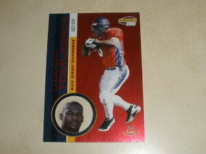 2001 Pacific Invincible Red #290 LaDainian Tomlinson 182/199 Rookie RC