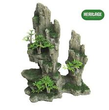 NEW Artificial Aquarium Rock Large Fish Tank Decoration Tall Ornaments Hide Cave