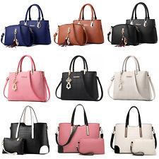 Fashion Women Handbag PU Leather Crossbody Clutches Satchel Bag Purse Top Handle