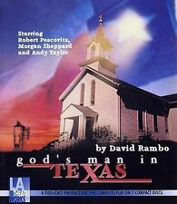 NEW God's Man in Texas (Library Edition Audio CDs) by David Rambo