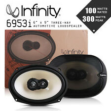 NEW Infinity Reference 6953i 6X9 3-way Car speaker