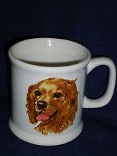 "4"" ceramic COCKER SPANIEL coffee MUG"