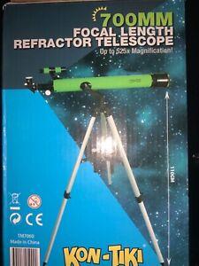 KON-TIKI 700mm Refractor Telescope up to 525x magnification read description
