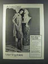 1981 Bloomingdale's Ad - Missoni jacket, Skirt, Sweater