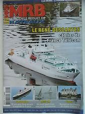 MRB - Modèle Réduit de Bateau #554 (REVUE) René Descartes - Le France - Multi 2M