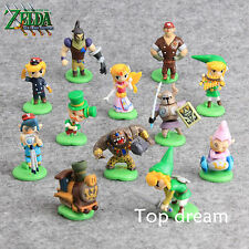 12X The Legend Of Zelda Spirit Tracks Link Bryne Mini Action Figures Capsule Toy