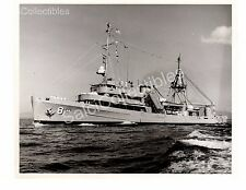 Historic US Navy Submarine Rescue Ship Coucal ASR-8 Official Photo
